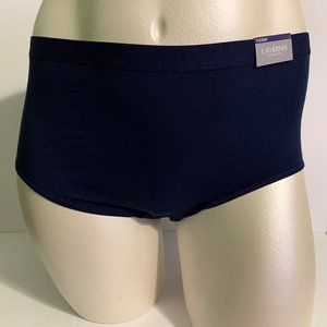Catherines Cotton Full Brief Panties Blue Navy 6X